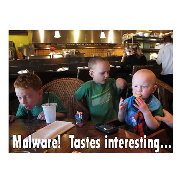 techie humor:  malware!