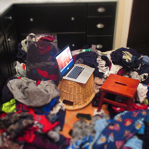 does working from home really work? Yes! How to handle laundry issues