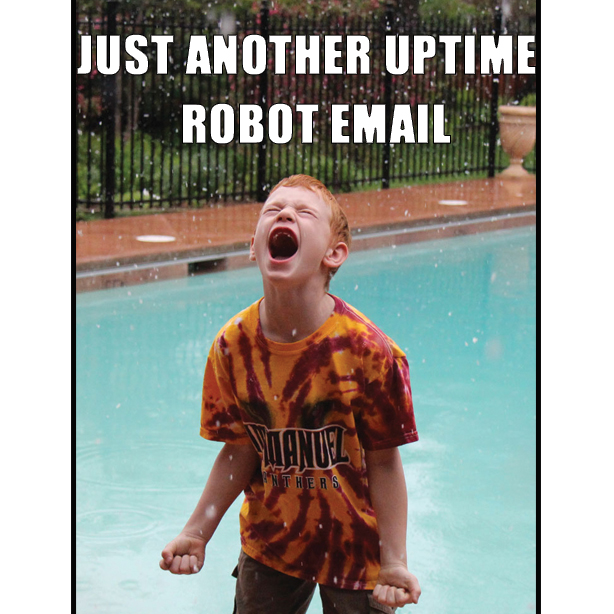 techie humor: uptime robot news