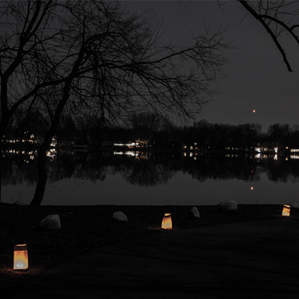 crystal lake night